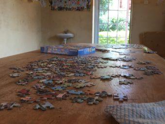 Puzzle im Spielzimmer des Omoana House