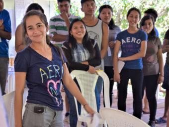 Viele junge Menschen gewinnen durch die Workshops Selbstvertrauen und erleben, dass ihre Meinung zählt und sie selber einen Beitrag zu einer nachhaltigen Gesellschaft leisten können.