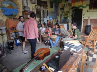 Der Hauptraum im Kulturzentrum Tlaloc: Hier können sich Kinder und Jugendliche kreativ entfalten, zusammen diskutieren und positives Zusammenleben erlernen