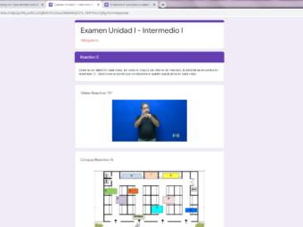 Onlineunterricht auf Stufe «Intermedio I»
