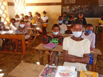 Eine andere Klasse während dem Unterricht