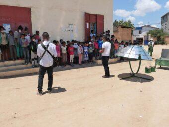 Schule in Ankofafa – Umweltsensibilisierung und Demonstration Solarkocher